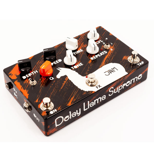 Jam Pedal - The Delay Llama Supreme