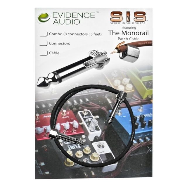 Evidence - The Monorail SIS MR30CM Patch (신제품)