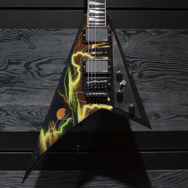 [중고] Jackson USA RR1 Randy Rhoads Lightning Sky Moon 1991'
