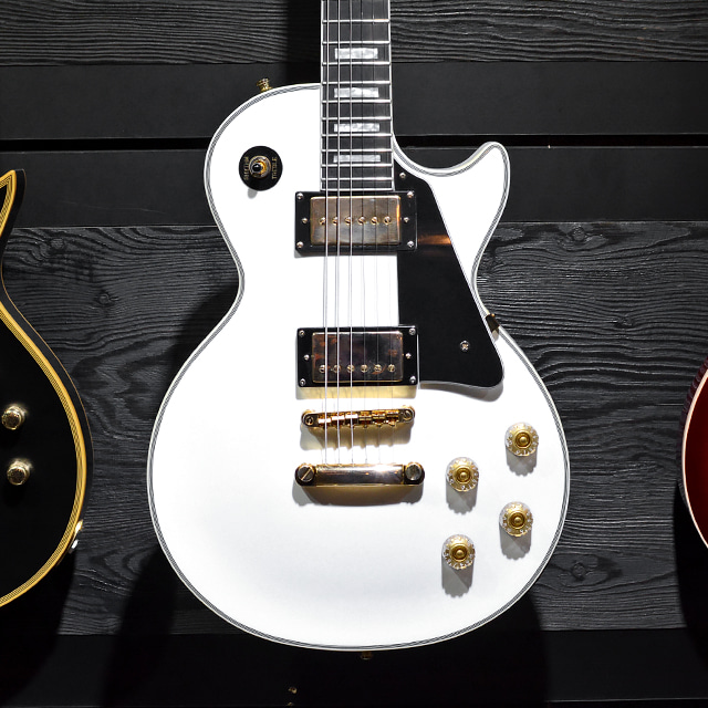 [중고] Epiphone Les Paul Custom WH