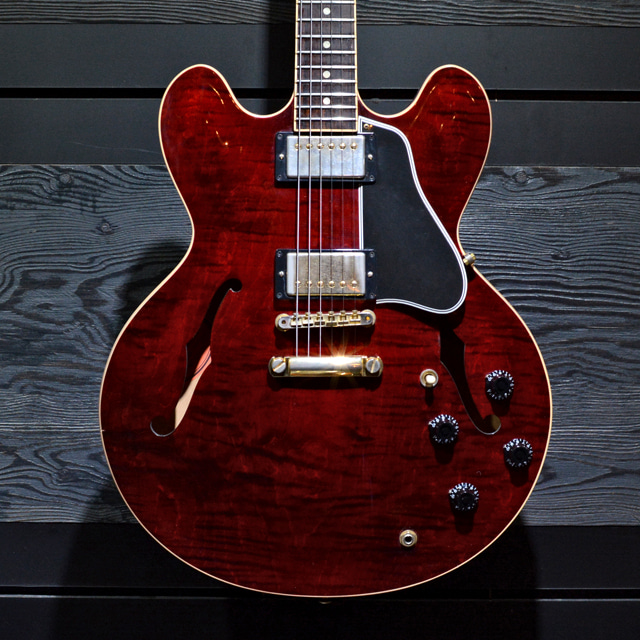 [중고] Gibson Custom Memphis ES-335 Figured Wine Red 2011'