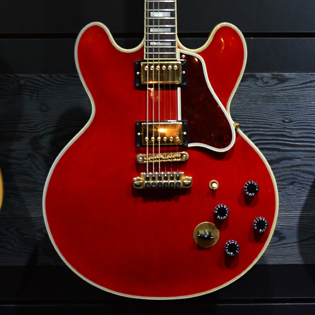 [중고] Gibson ES-355 BB King Signature Cherry 2009'