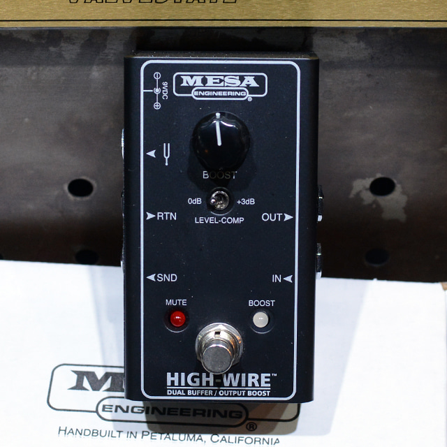 [중고] Mesa Boogie High-Wire Dual Buffer & Output Boost