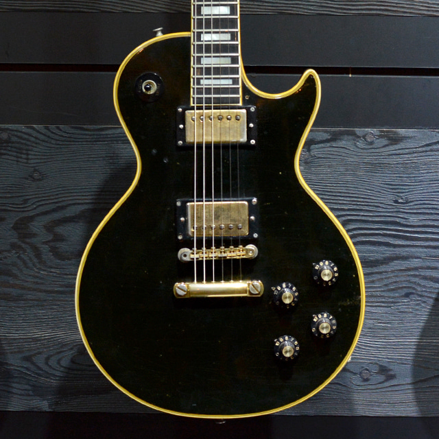 [중고] Gibson Les Paul Custom Black 1970'