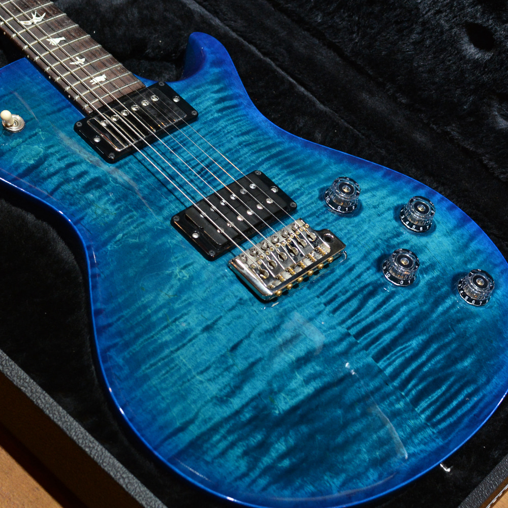 [중고] PRS USA Mark Tremonti Signature Azul Blue Burst Custom Color 2015'