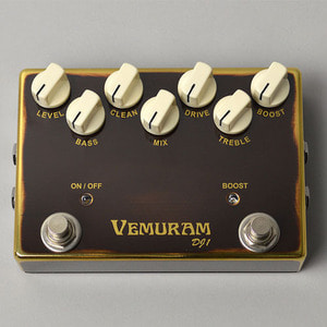 베뮤람 Vemuram - DJ1 Bass Pedal (Darryl Jones)