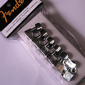 Fender Standard Guitar Tuner - Chrome (099-0820-000)