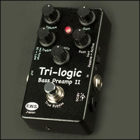 E.W.S Tri-logic Bass Preamp 2