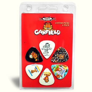 Hotpicks - NewClamshell , Garfield 6 Pack