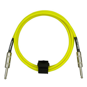 Dimarzio - overbraid cable, neon yel ,18ft (5.48m)