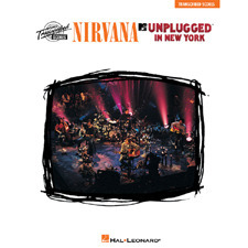 Hal Leonard - NIRVANA UNPLUGGED IN NEW YORK