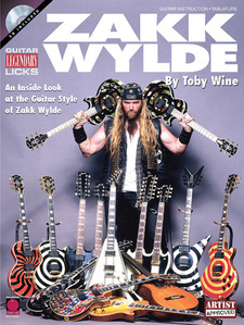 Cherry Lane Music - ZAKK WYLDE LEGENDARY LICKS