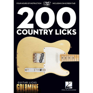 Hal Leonard - 200 Country Licks