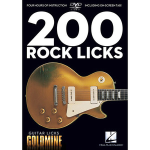Hal Leonard - 200 Rock Licks