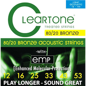 Cleartone - Acoustic Strings 80/20 Bronze 012 Gauge