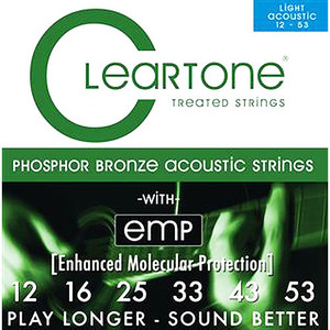 Cleartone - Phosphor Bronze 012 Gauge Acoustic Strings
