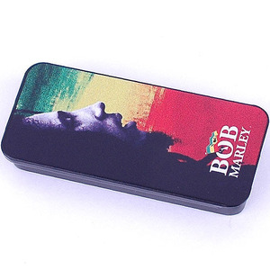 Dunlop Pick Tin - Bob Marley Collectible Pick Tin BOBPT02H (Heavy 게이지)