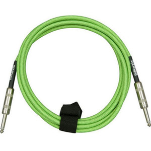 Dimarzio - overbraid cable, Neon Green,10ft (3.05m)