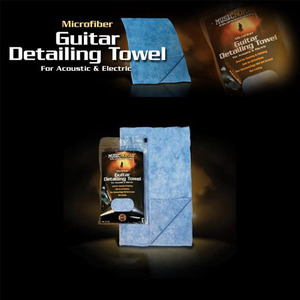 Music Nomad - Guitar Detailing Towel (Microfiber)  For Acoustic & Electric