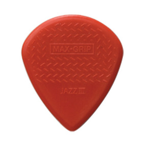 Dunlop 471R3N Nylon MAX GRP Jazz-III Red