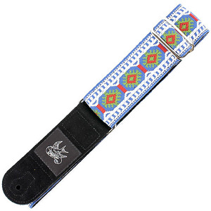 JayKco Strap - Sixties Classic Vintage (Blue, Green, Red and White Snowflake)