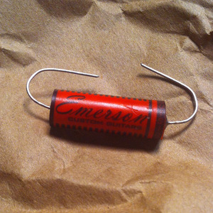Emerson Custom - Oil Capacitor RED