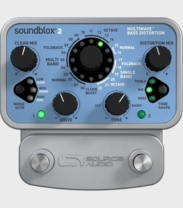 Sourceaudio - Soundblox® 2 Multiwave Bass Distortion