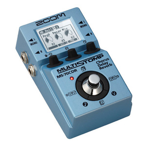 Zoom - MS-70CDR MultiStomp Chorus / Delay / Reverb 이펙터