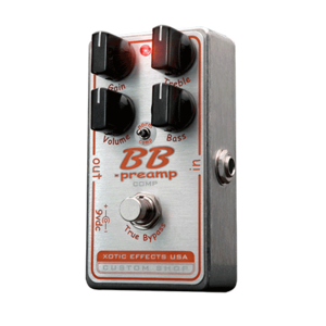 Xotic - BB Preamp COMP (BB Preamp with compression mode switch)