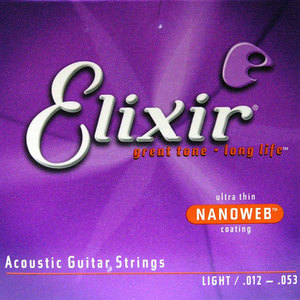 Elixir - Acoustic NANOWEB Light (012 - 053)