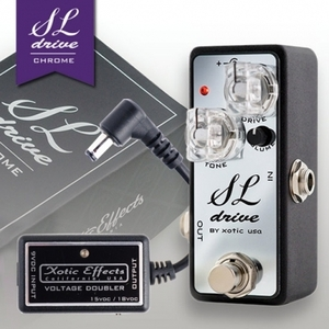 Xotic - SL Drive Chrome Bundle with Voltage Doubler (Limited Edition)